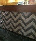 Square thumb bar tiling