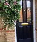 Square thumb composite door 04