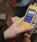 Square thumb envirovent carry out a thorough test of the property using hygrometers to test for humidity.
