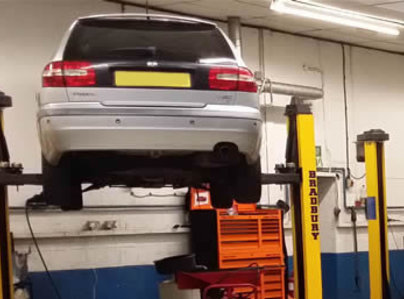 Primary thumb interim car servicing southampton
