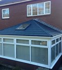 Square thumb conservatory roof replacment