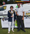 Square thumb mayor of barnsley in support at disability awareness event