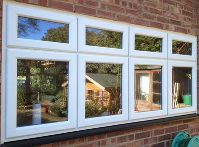 Primary thumb dummy sash window