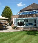Square thumb orangery completed