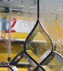 Square thumb c2c social media van through glass