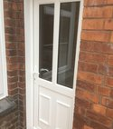 Square thumb upvc back door  bristol