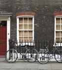 Square thumb sliding sash with bikes