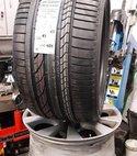 Square thumb tyre