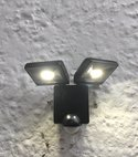 Square thumb security light chislehurst electrician 3