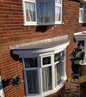 Square thumb bay window flat roof2