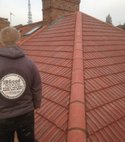 Square thumb new roof in redland 49 s  7