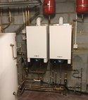 Square thumb viessman boiler install
