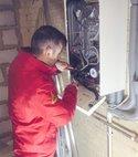 Square thumb repairing boiler