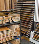 Square thumb wood flooring