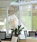 Square thumb conservatory inside