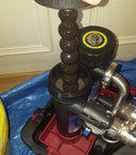 Square thumb powerflush magnaclean