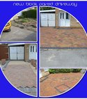 Square thumb block paving