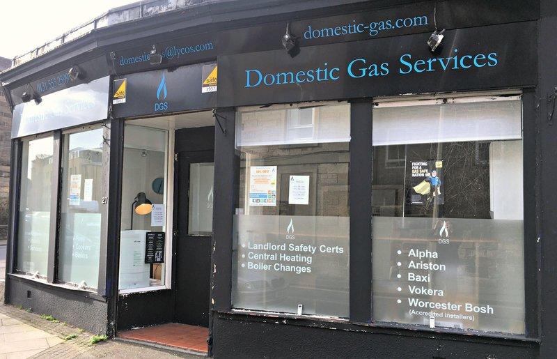 Domestic Gas Services Heating Contractors In Edinburgh
