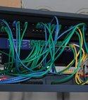 Square thumb data cabinet