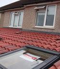 Square thumb interlocking roof 18