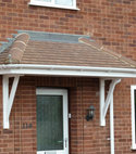 Square thumb canopy roof