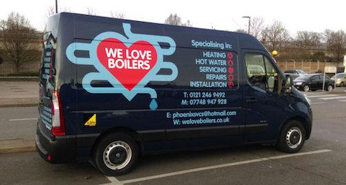Gallery large van logo
