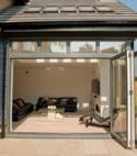 Square thumb bi fold doors bedfordshire