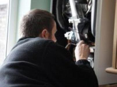 Primary thumb heating boiler repair