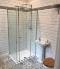 Square thumb bathroom