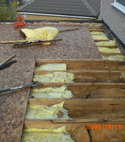Square thumb flat roof exposed 1