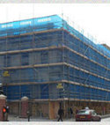 Square thumb home scaffolding