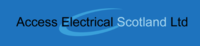 Profile thumb access electrical logo