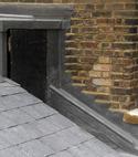 Square thumb lead work on bricks