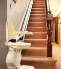 Square thumb stair lift