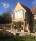 Square thumb oak doors and windows  extension zeals  2