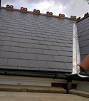 Square thumb new man made slates with valley