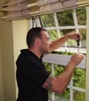 Square thumb keytek locksmith working on upvc window mechanism