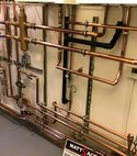 Square thumb multi zone heating system twin boiler install essex