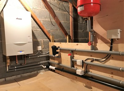 Primary thumb new unvented cylinder and boiler in loft ipswich suffolk