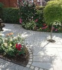 Square thumb driveways patios paving garden maintenance lanscaping fencing sunshine gardens christchurch dorset 22g