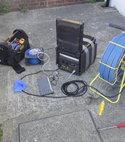 Square thumb drain cctv camera survey maidstone kent