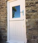 Square thumb rock door stable door