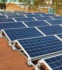 Square thumb solarpanel