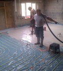 Square thumb under floor installation