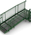 Square thumb access ramp with infill updated