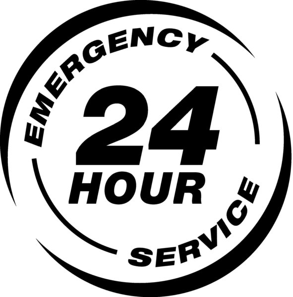 Gallery large 24 hour service logo