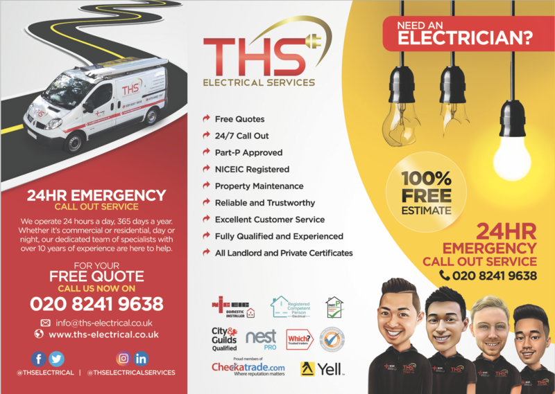 Ths Electrical Services Electricians In Kingston Upon