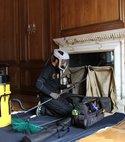 Square thumb chimney sweeping london