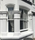 Square thumb external view of completed bay window in becklow rd  london