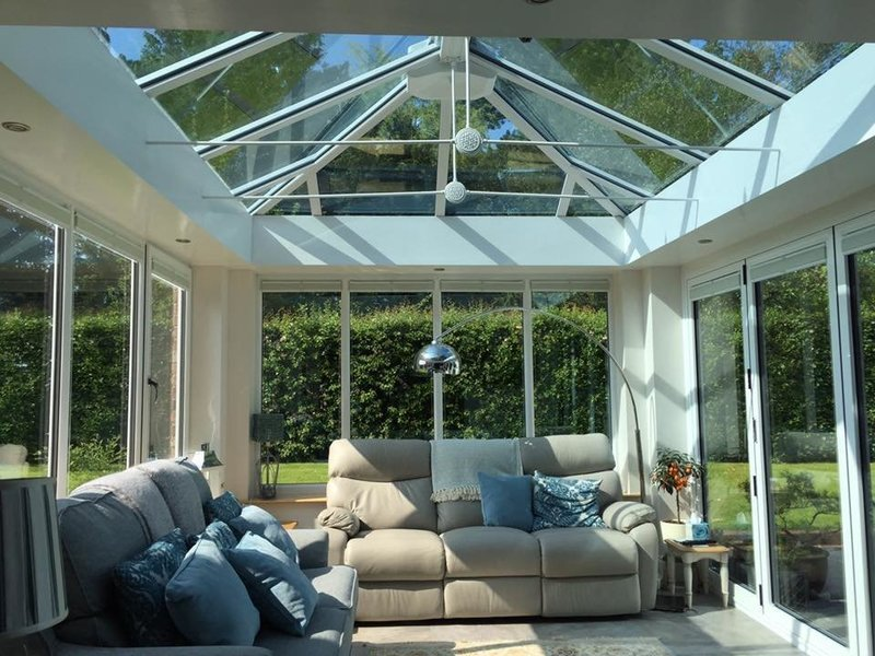 Gallery large mock orangery internal